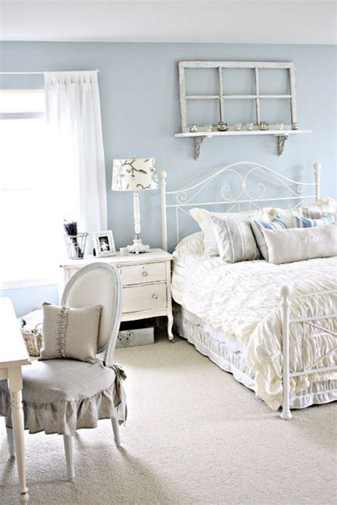 cute  shabby chic bedroom ideas