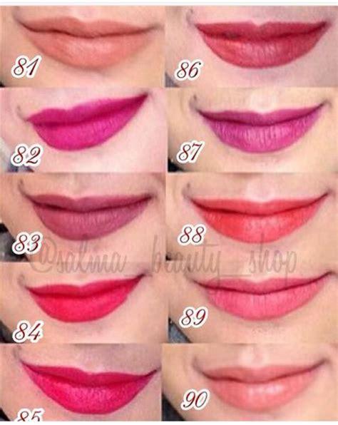 Lipstik Purbasari Dan Warnanya jual lipstik purbasari matte sweet