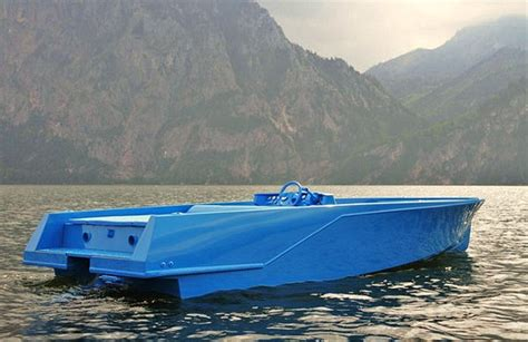 blue boat by xavier veilhan 7 boat design net gallery - Blue Boat Books Ltd