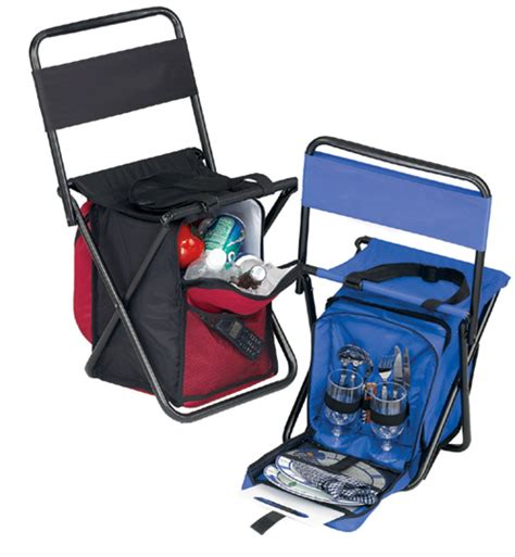 cooler chair w two picnic settings sided cushion