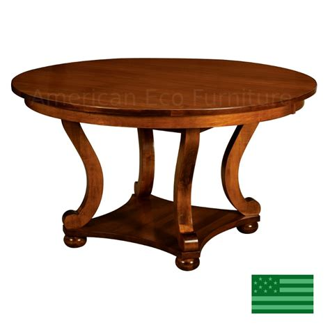 Dining Table Made In Usa Amish Solid Wood Heirloom Furniture Made In Usa Henderson Dining Table American Eco Furniture