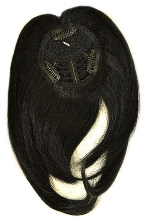 human hair weave closure with bangs vivica a fox human hair snap bang crown closure piece with