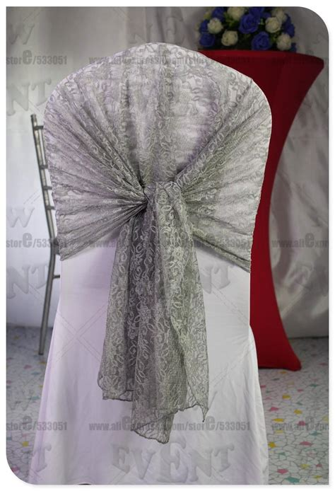 lace chair sashes east lace sashes white black silver burgund pink