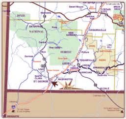 Southern Utah Map by Southern Utah Map
