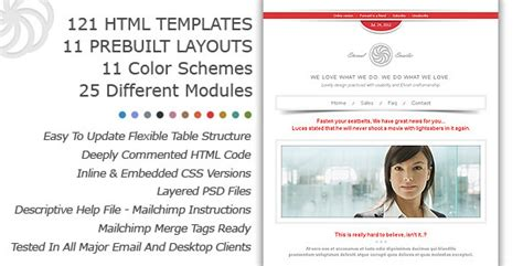 eternal emailer html email template premium templates