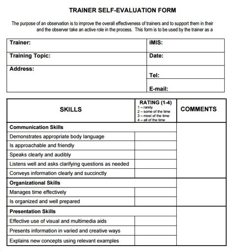 word evaluation form template evaluation form templates word pictures to pin on