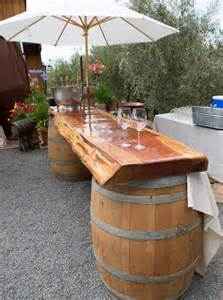 Diy Patio Bar Ideas by Home Dzine Garden Ideas Diy Outdoor Bar Ideas