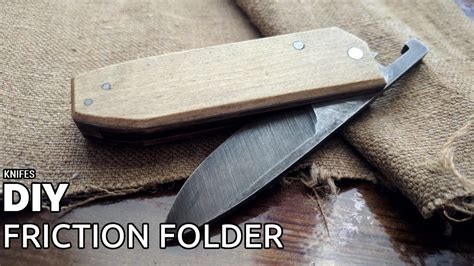 friction folder diy friction folder knife