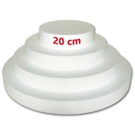polistirolo alimentare base per torta in polistirolo alimentare 20 cm