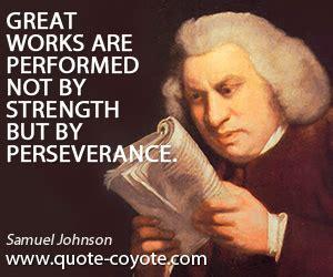 Samuel Johnson Meme - perseverance quotes quote coyote