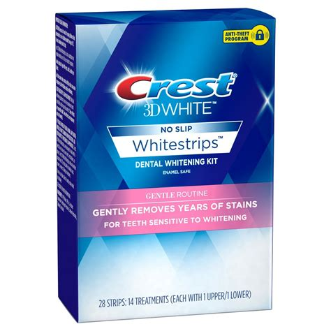 upc  crest  whitestrips professional tooth