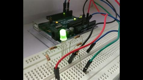 led driver cd4017be circuits youtube how to make simple rgb led driver circuit youtube