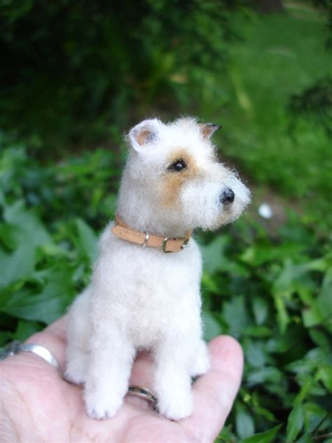 puppy that looks real 1 6 fox terrier wire bears