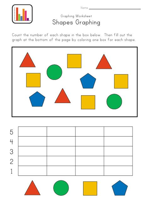 printable picture graphs kindergarten kindergarten graphing worksheet kids learning station