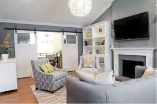 living room color schemes gray contemporary living room by found design