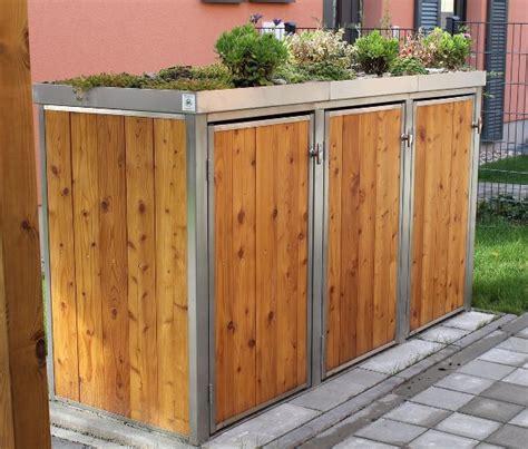 M 252 Lltonnenboxen Shop Von Resorti Ist Online Resorti Blog Moderner Sichtschutz Holz