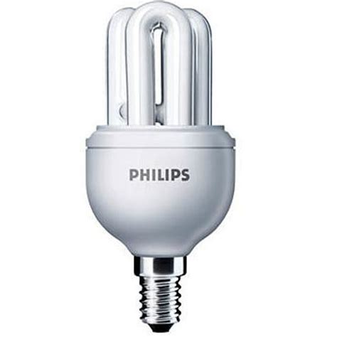 Sale Lu Philips Sitrang 8w buy philips genie 8w e 14 cfl at best price in india