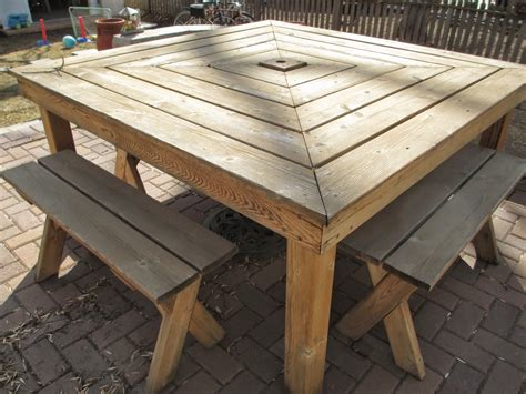 Homemade Wood Outdoor Furniture Home Design Ideas Home Build Your Own Patio Table