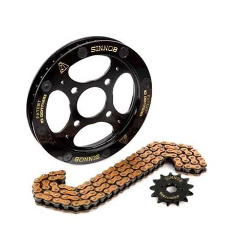 Gear Set Sinnob harga sinnob drive chain kit black gear set new cbr150r