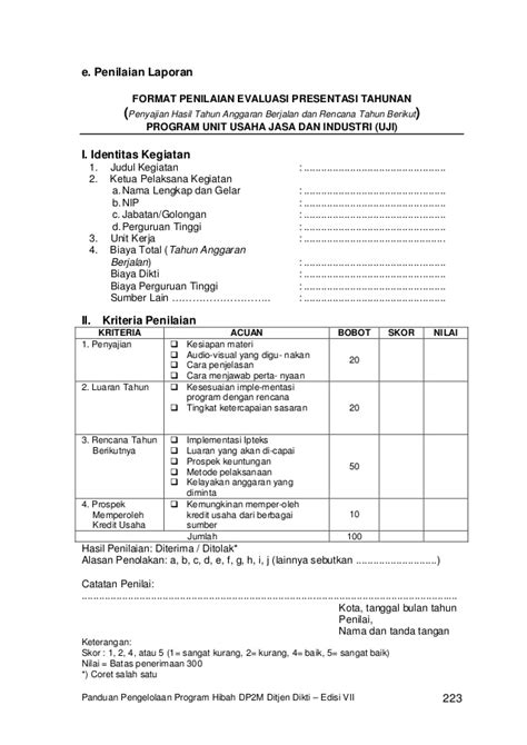 format proposal evaluasi program 3176033 contoh proposal usaha