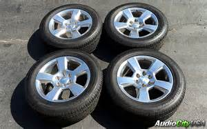 Used Chevy Truck Wheels And Tires 20 Quot Chevy Tahoe Silver Factory Oem Wheels Rims And Tires
