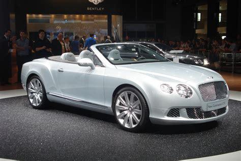 Bentley Continental Gtc by Bentley Continental Gtc Auf Der Iaa 2011 Fahrzeugbilder De