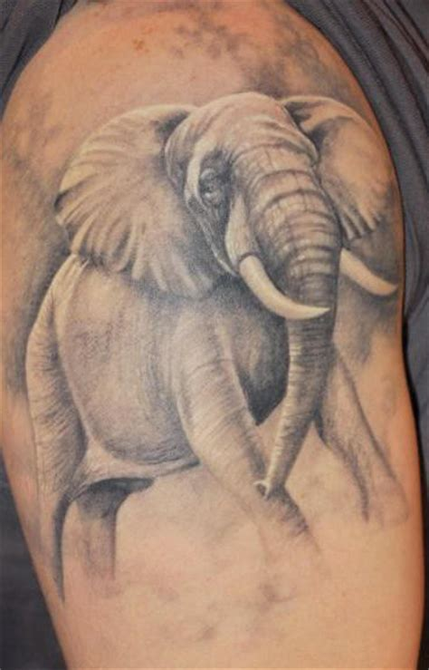 angry elephant tattoos elephant tattoos