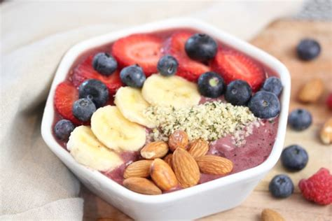 Breakfast Places With Acai Bowls Near Me - how to make a dyi acai bowl clean delicious with