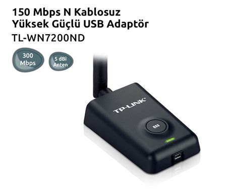150mbps High Power Wireless Usb Adapter Tl Wn7200nd tp l箟nk tl wn7200nd high power wireless usb adapter n11