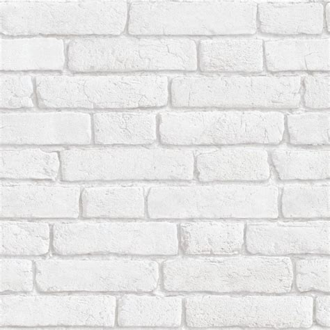 white  bricks wallpaper kozielfr sisustus