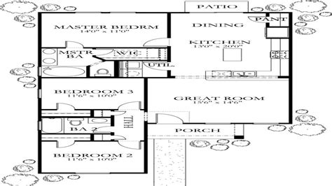 1200 square foot floor plans 1200 sq foot house plans house plans under 1200 sq ft