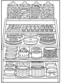 dessert coloring pages welcome to dover publications coloring pages