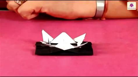 learn paper crafts learn how to make ufo using paper paper craft for