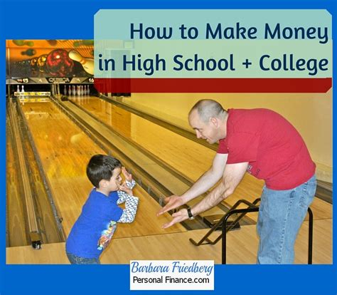 How To Make Money Online In College - how to make money in high school college