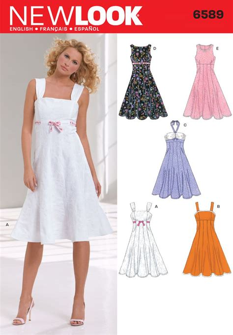 pattern a dress love this style of summer dress going to make it and