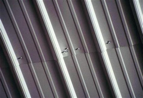 sheet metal ceilings roofer falls through sheet metal