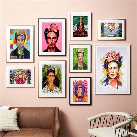 frida kahlo home decor frida kahlo self portrait canvas art print painting poster