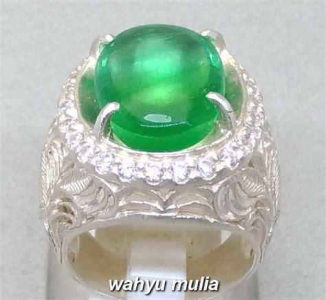 896 5 Ct Fluorite Memo batu cincin green fluorite asli kode 923 wahyu mulia