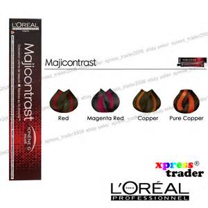loreal professional hair color l oreal majicontrast professionnel permanent colour hair