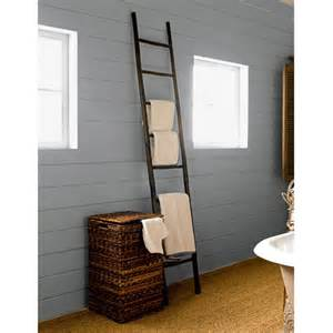 towel ladder wooden oka