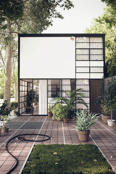 eames house cgarchitect professional 3d architectural visualization