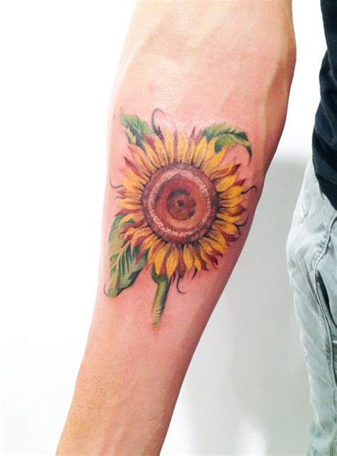van gogh sunflower tattoo 207 best images about tattoos on trees tree