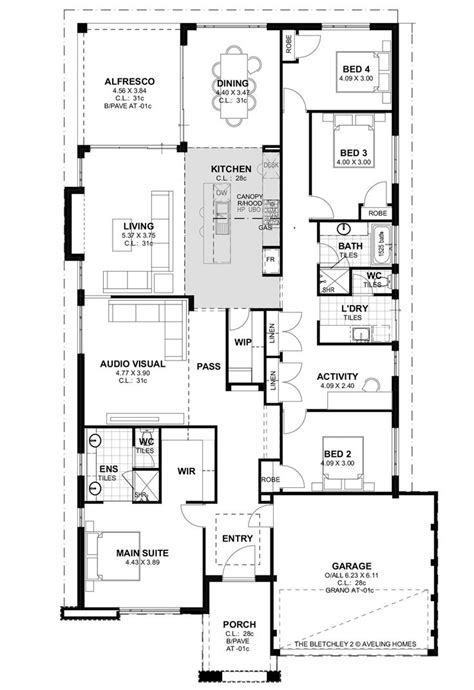 floor plans perth aveling homes bletchley park series 2 floor plan