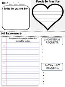 Prayer Book Template by A S Best Friend How To Do A Prayer Journal