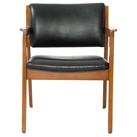 Modern Leather Armchair by Modern Dining Armchair In Black Leather For Sale At