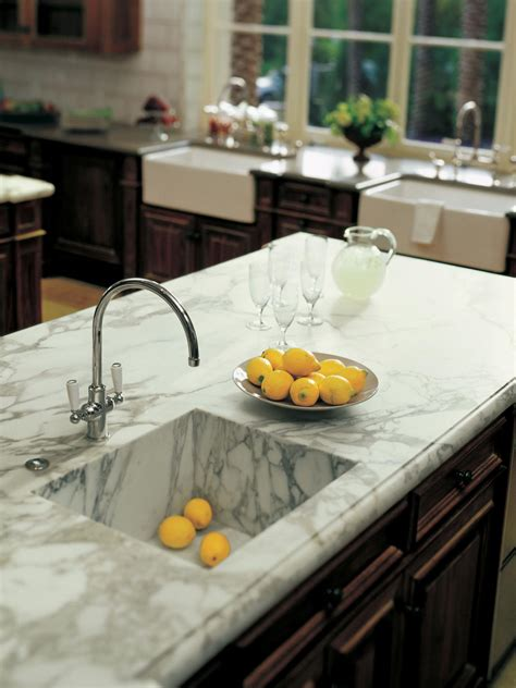 Kitchen Marble Design marble kitchen countertop hgtv