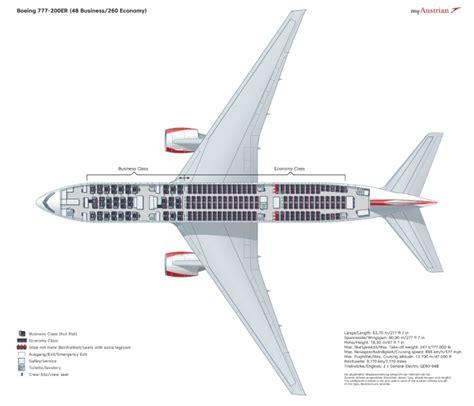 seating plan boeing 777 200 boeing 777 200er