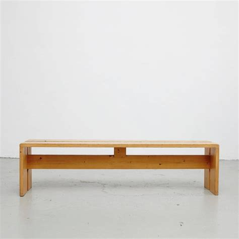 charlotte bench charlotte perriand bench for les arcs at 1stdibs
