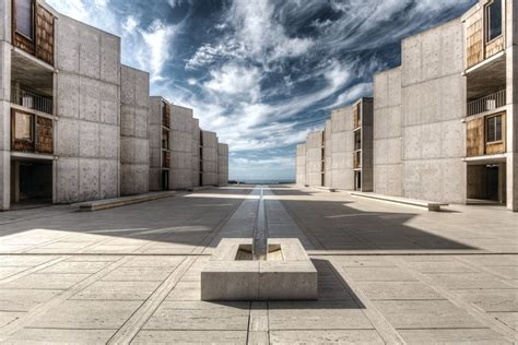 Plan Concrete About Salk Architecture Salk Institute For Biological