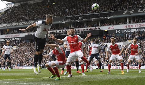 arsenal spurs tottenham hotspur 2 0 arsenal premier league as it happened